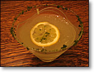 Lemon Verbena Martini