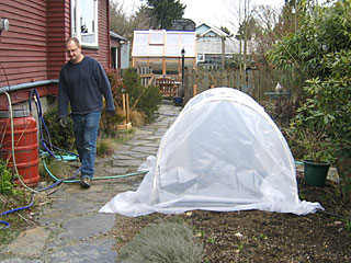 Closed Hoop House