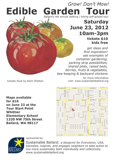 Sustainable Ballard Tour Map & Information