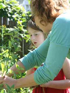 Garden Coaching with Children