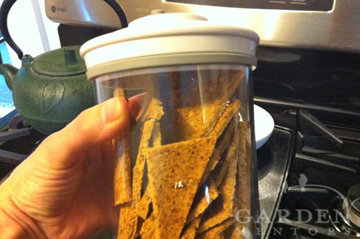 Dried & Stored No Grain Taco Crisps
