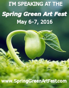 Spring Green Art Festival Decal