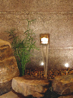 Waterfeature in 2008 NWFGS Show Garden