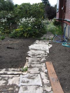 Sheet mulching Converting Lawn to Beds