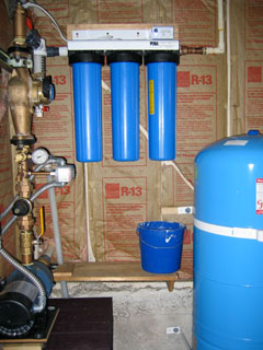 Water Catchment Potability Filtration System