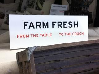 Farm Fresh Sign