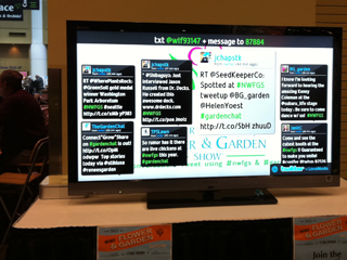 Live Twitter Feed during NWFGS