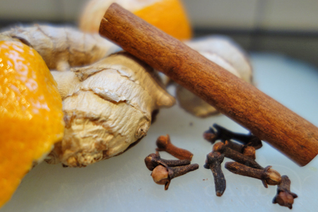 Christmas spice aromatherapy blend