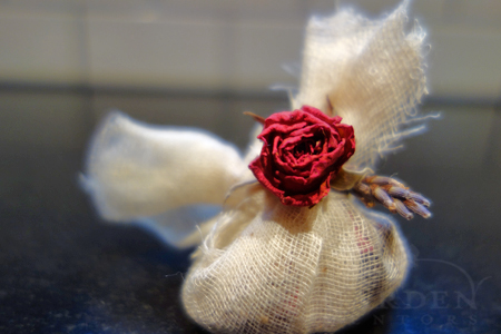 rose & lavender herbal sachet
