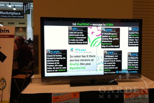 2012 NWFGS Twitter Kiosk
