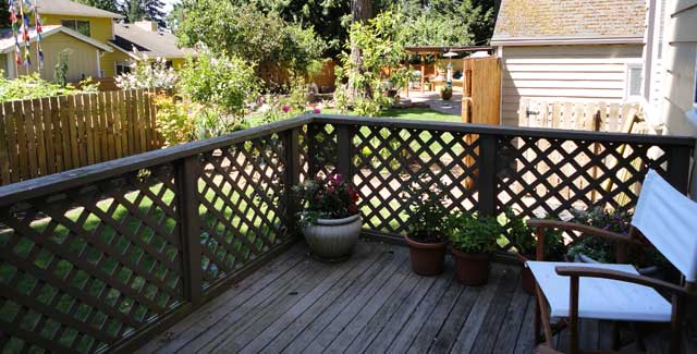 Disconnected Deck Before