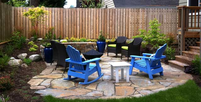 Patio Space After