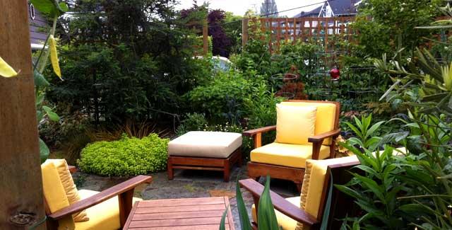Leann's garden afer