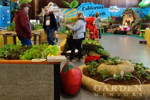 San Francisco Flower & Garden Show Sproutopia! area
