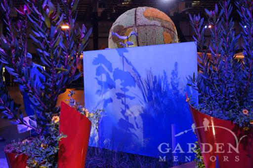 San Francisco Flower & Garden Show Resin Panel Garden