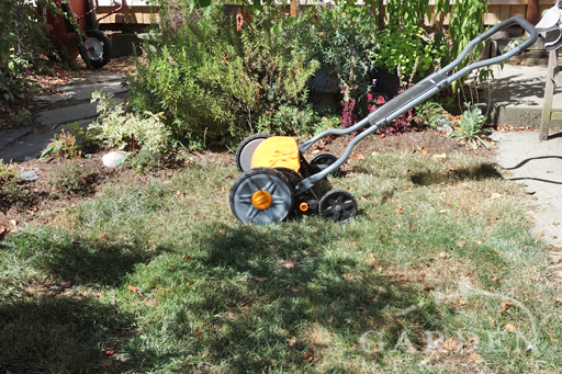 Last Mowing of the Lawn