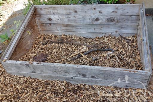 Wood Filled Hugelkultur