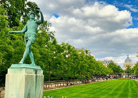 Paris Garden Tour Online Luxembourg